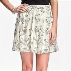 OLD NAVY Floral Print Full Skirt Plus Size 2X EUC